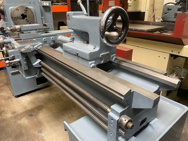 16 x 60 cc, LEBLOND Engine Lathe, 2.25 Hole, T/S, Aloris Tool Post,10 Chuck