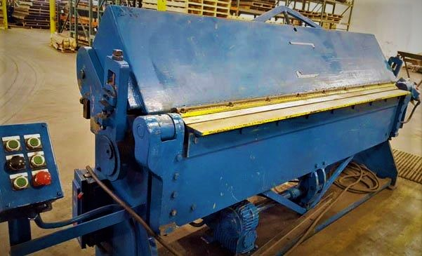 10 Ga. x 96 , CHICAGO D & K, Leaf Brake, No. PB-8135, 3 HP Motor,
